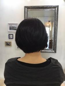 住吉と菊川の間にある美容室、ヘアサロン シュガーより、多少のくせ毛ならドライ・カットで大丈夫です