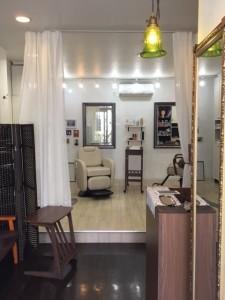 錦糸町から一駅、江東区住吉にある美容室 ヘアサロン シュガーは一人で営業しているプライベートサロンです。