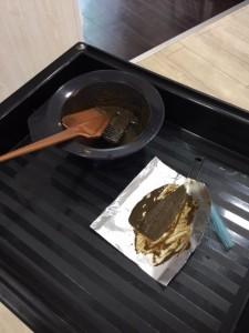 江東区住吉、森下からも近い美容室 ヘアサロン シュガーの、ヘナカラーの実験