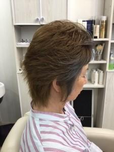 江東区住吉と菊川の間にある美容室 ヘアサロン シュガーの、「大人の女性」のヘアカラー